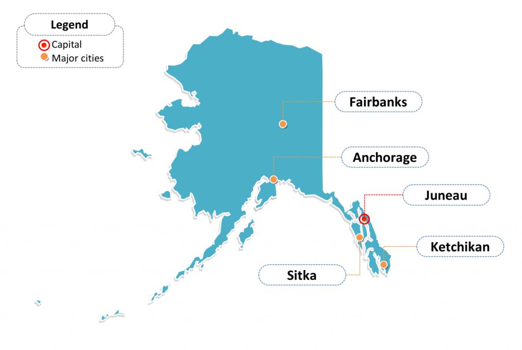 alaska rest areas map